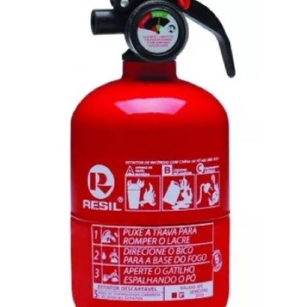 """Extintor automotivo abc 4"""" (bolinha)"""