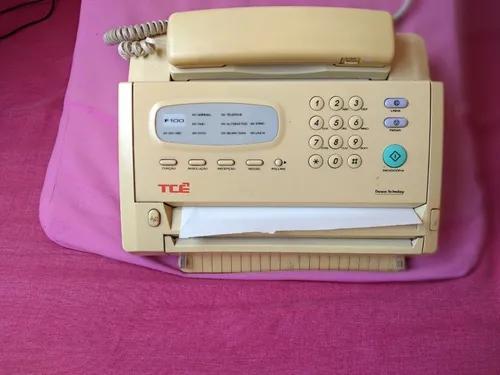 Fax antigo tce funcionando