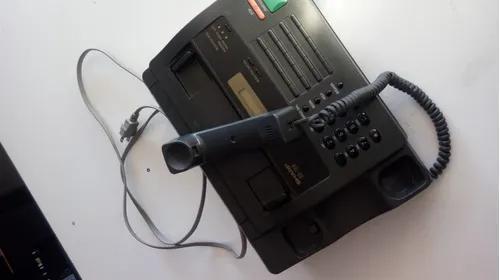 Fax telefone sharp ux-104 funcionando tudo ok 127v