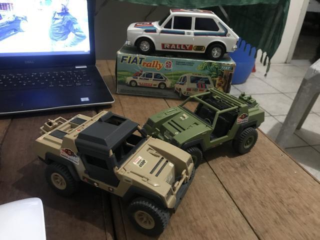 Jeep comandos em ação brinquedo