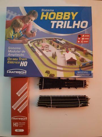 Kit hobby trilho - caixa a - ho frateschi 6405 + trilhos