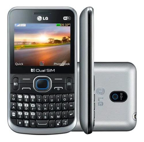 Lg c397 - dual chip, câmera 2mp, mp3 player - novo