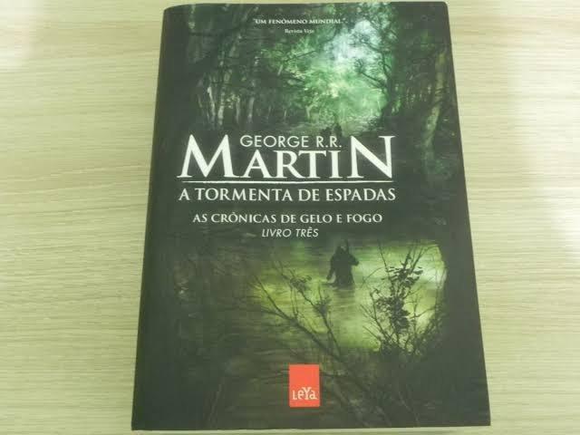 Livros 3 game of thrones, fortaleza - ceará