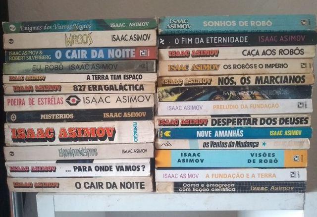Livros de isaac asimov