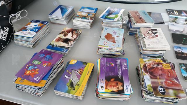 Lote 100 cartões telefônicos antigos