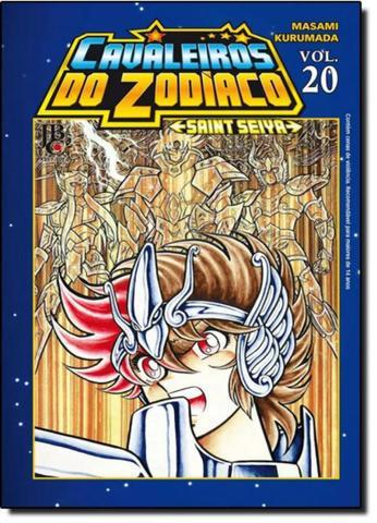 Mangá - cavaleiros do zodíaco saint seiya nº 20