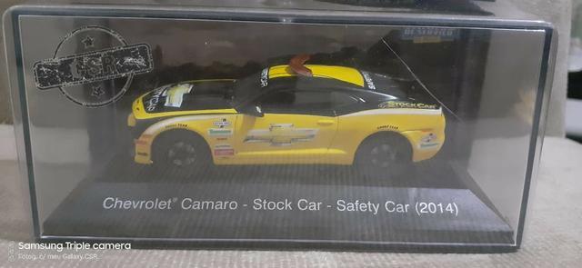 Miniatura chevrolet camaro stock car safety car (2014)