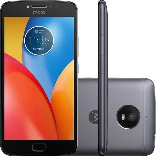 Motorola moto e4 plus xt1773 16gb 13mp 5.5 titânio vitrine