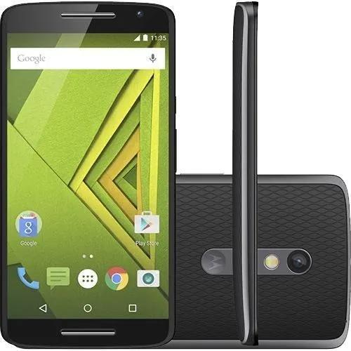 Motorola moto x play preto 32gb 4g frete grátis 12x s/