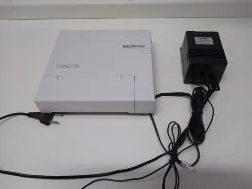 Pabx conecta intelbras 2 linhas 8 ramais usado