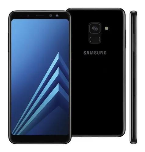 Samsung galaxy a8 a530 / dual, 64gb, 4g, 16mp - mostruário