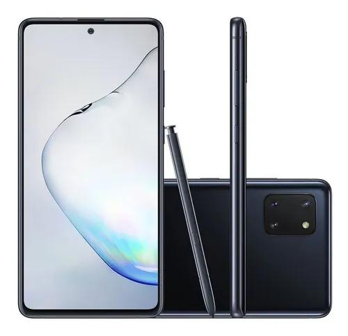 Smartphone samsung galaxy note 10 lite 128gb 4g tela 6.7