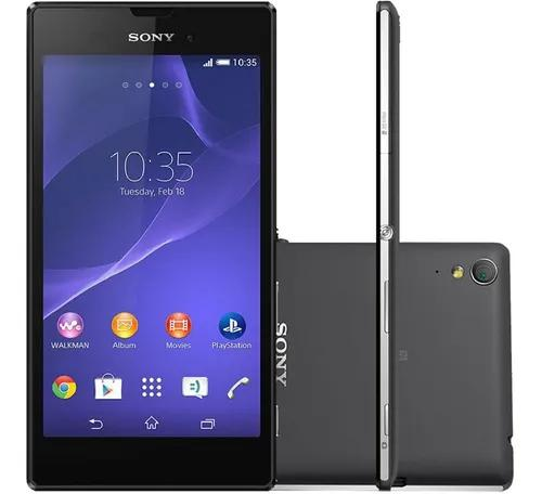 Sony xperia t3 d5106 8gb singl chip 4g preto re