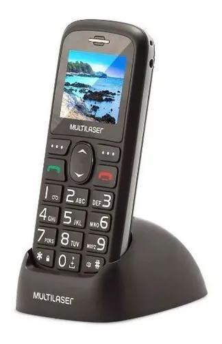 Telefone celular para idoso botão grande sos dual chip