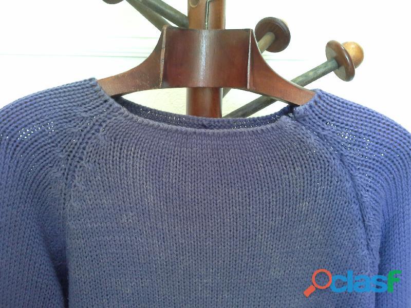 Blusa de tricot roxo violeta 2