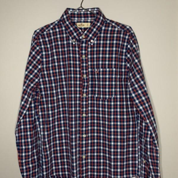 Camisa hollister quadriculada