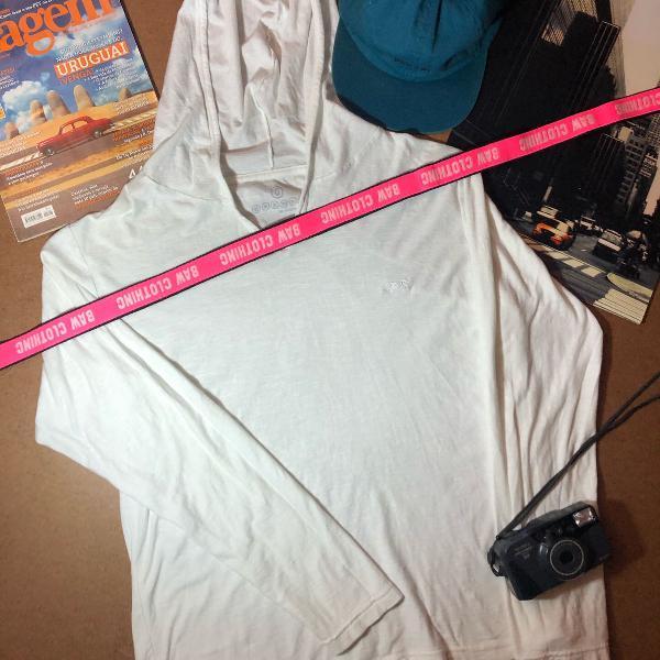 Camiseta tng manga longa com capuz - tamanho g