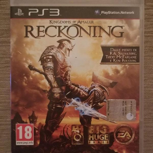 Jogo ps3 kingdoms of amalur reckoning