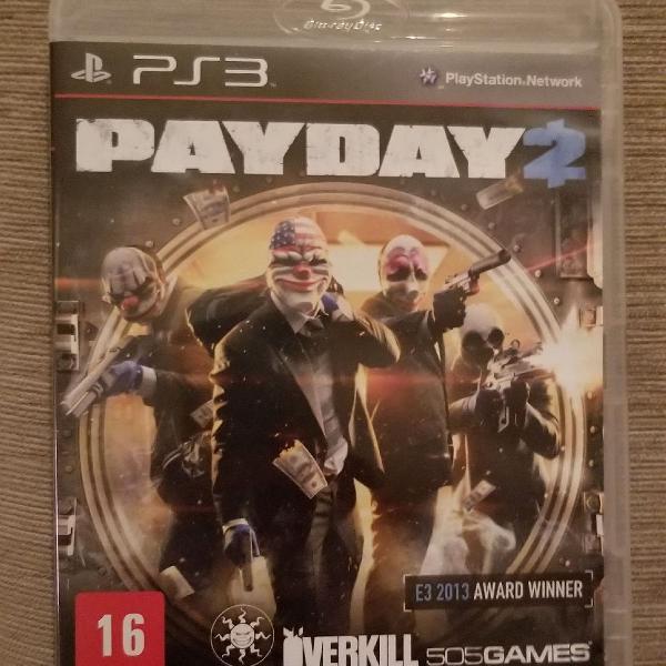Jogo ps3 payday 3