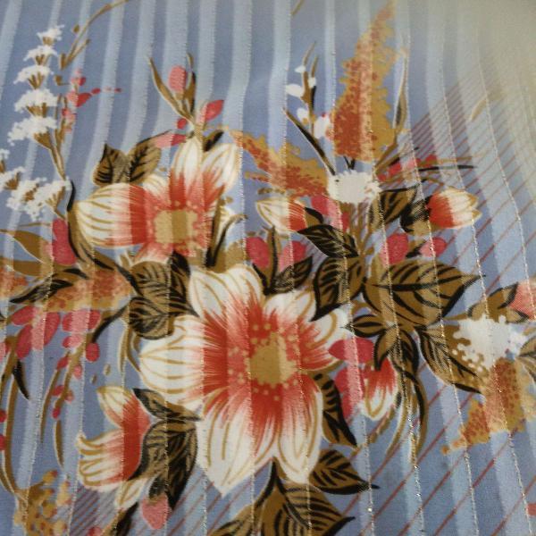 Lenço/echarpe de seda