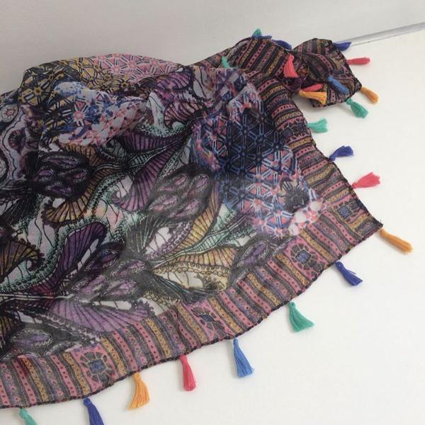 Maxi lenço hippie