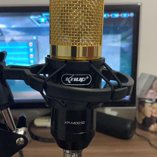 Microfone profissional knup