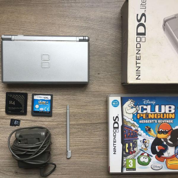 Nintendo ds lite + jogos
