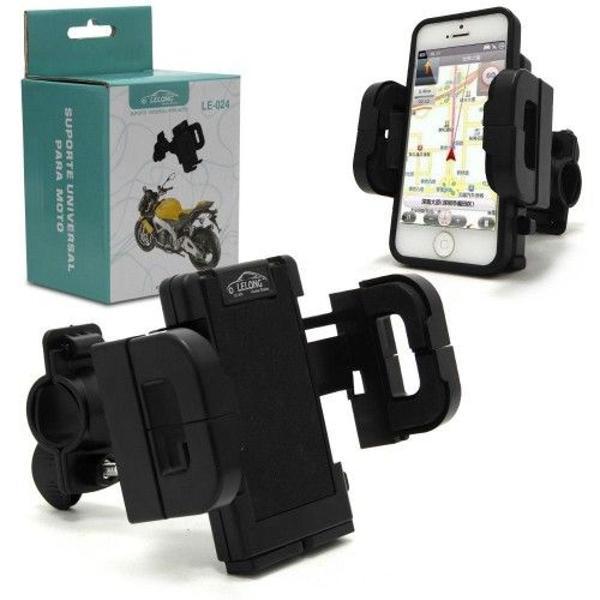 Suporte de celular universal para moto e bicicleta lelong