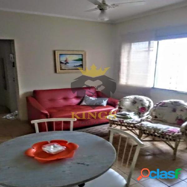 Praia do gonzaguinha - 1 dormitório mobiliado