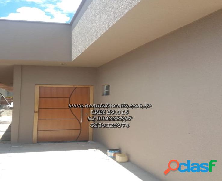 Casa 2 quartos nova no setor buriti sereno r$ 132.000,00