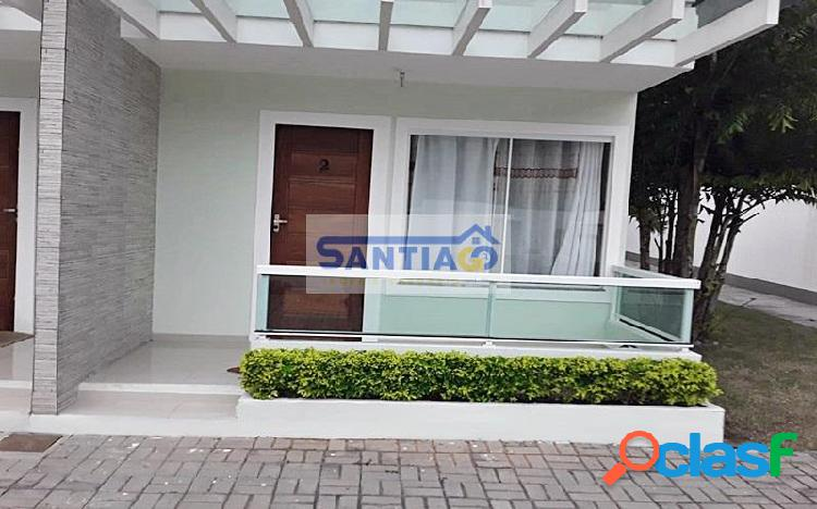 Ótima casa duplex em condomínio 2 quartos a 1km da praia do peró