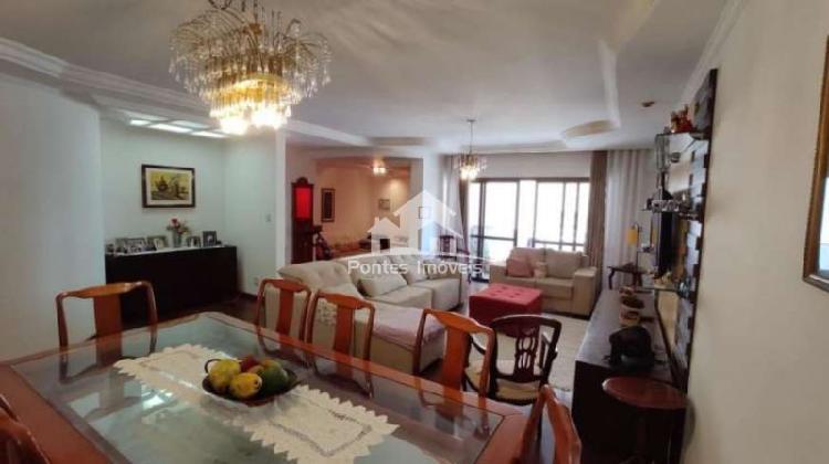 Apartamento 196m² 3 suites. bairro vila bastos-sa-sp