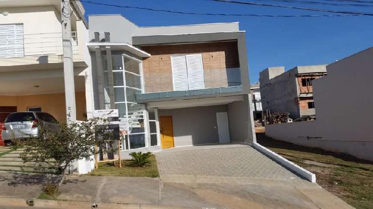 Casa nova moderna de construtora em condominio sorocaba