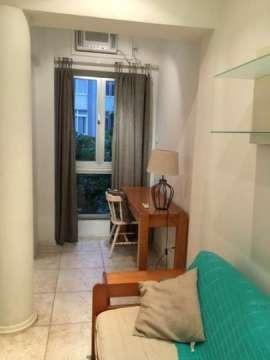 Apartamento de frente mobiliado 1qto copacabana