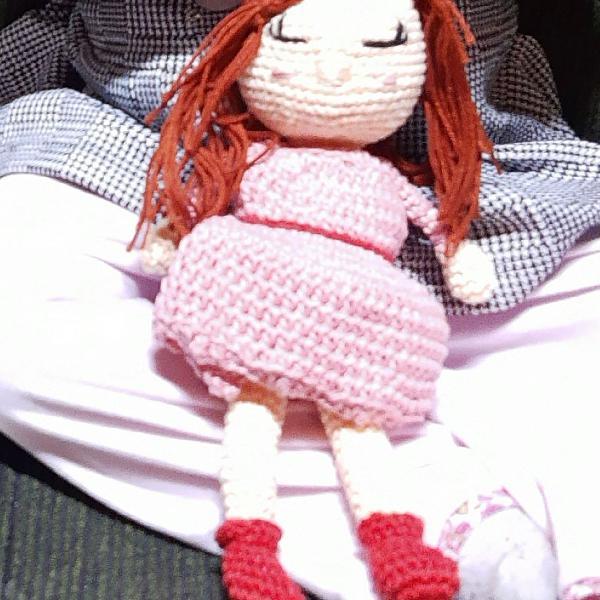 Boneca amigurumi medindo 35 cm em 2020 | Boneca amigurumi, Bonecas ... | 600x600