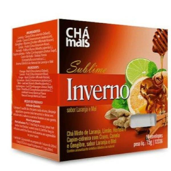 Chá sublime inverno 15g (10 sachês)