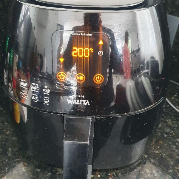 Fritadeira eletrica air fryer walita digital xl preta 127v