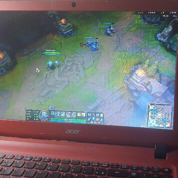 Notebook acer esp1 5 pro gamer e office