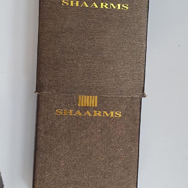 Relógio mecânico shaarms dourado