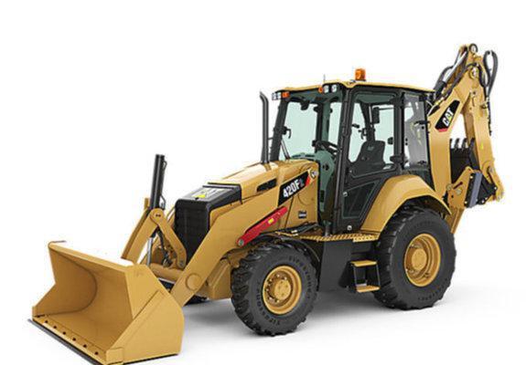 Retro escavadeira caterpillar 416 qcl plano especial para