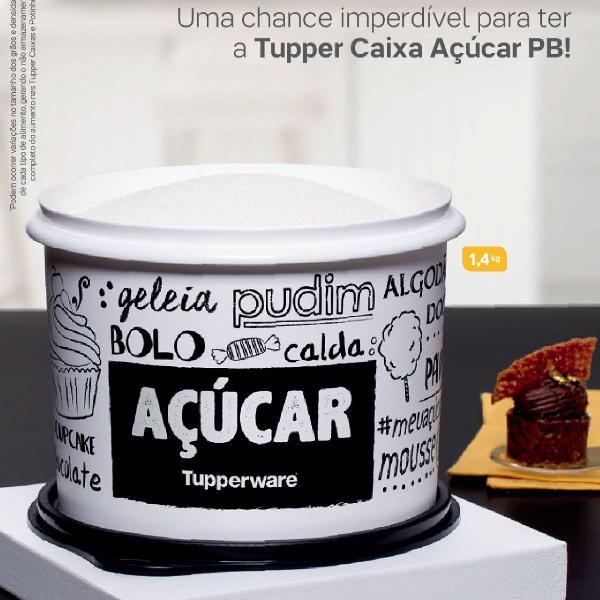 Tupperware para armazenar açúcar