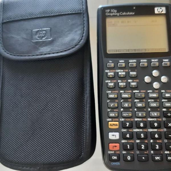 Calculadora grafica hp 50g