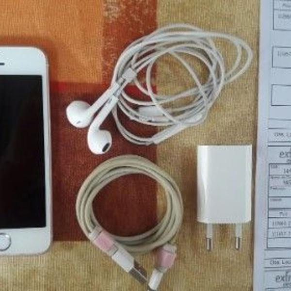 Iphone se 32gb rosa semi novo nota fiscal capinhas de brinde