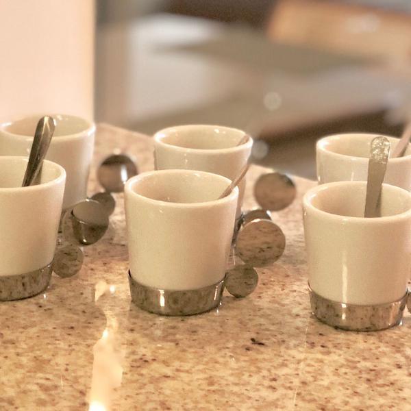 Jogo de xícaras para café riva