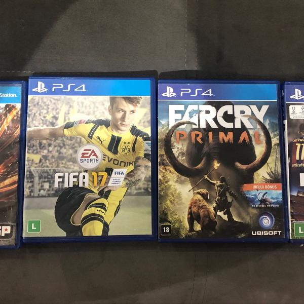 Jogos playstation 4 (ps4)