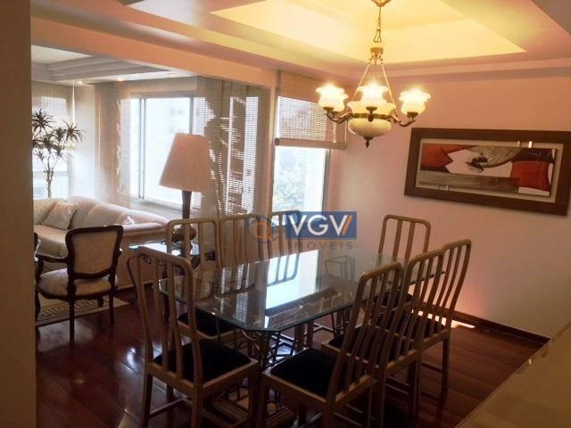 Lindo apartamento para locação todo mobiliado.