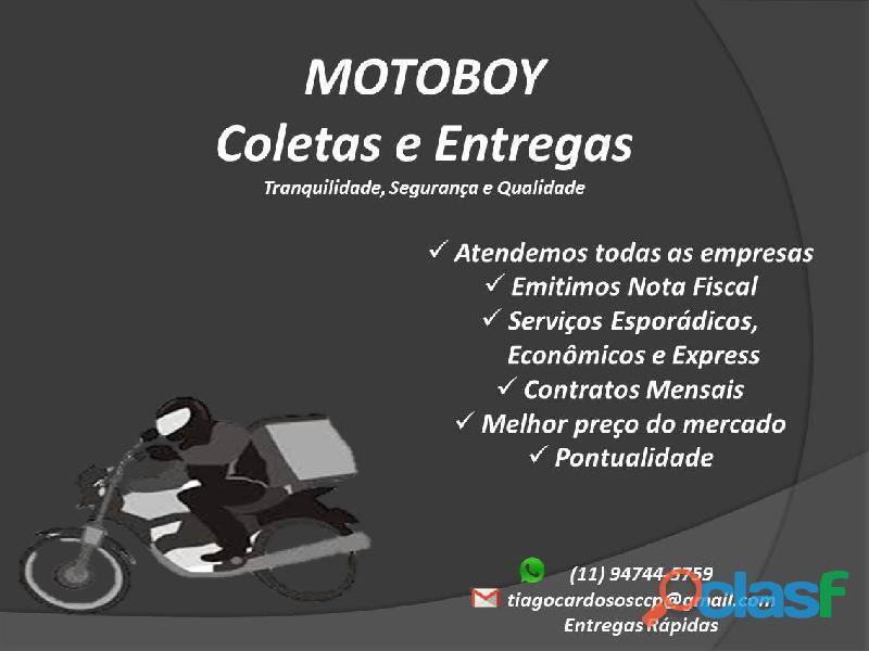 Motoboy   coletas e entregas