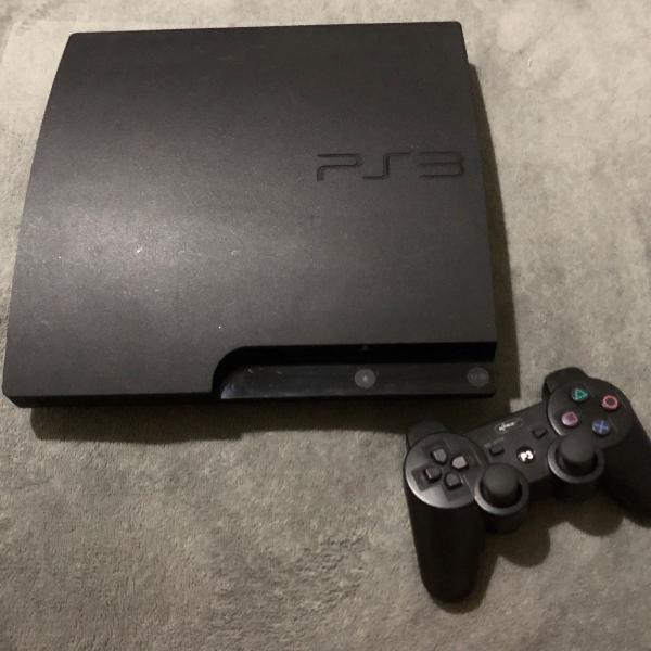Playstation 3 com 11 jogos originais