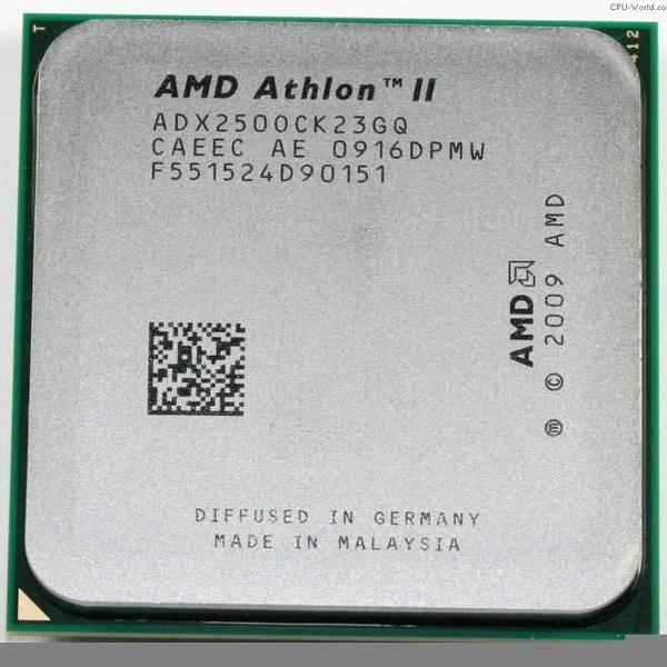 Processador amd athlon ii x2 250 3.0 ghz