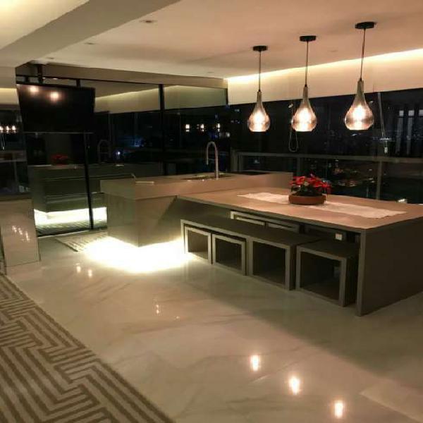 Apartamento 122 m² 3 suítes 2 vagas terraço gourmet no